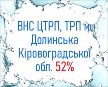 ВНС ЦТРП, ТРП м. Долинська Кіровоградської обл. 52%